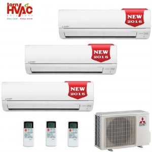 Aer conditionat Mitsubishi Electric Multisplit MXZ-3DM50VA+3 unitati interne MSZ-DM25VA