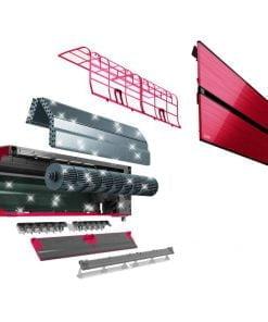Ac Mitsubishi Electric Inverter 12000 Btu Rosu MSZ-LN35VGR+MUZ-LN35VG