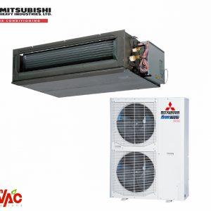 Ac Mitsubishi Hyper Inverter Duct FDU140VF+FDC140VSX 48000Btu