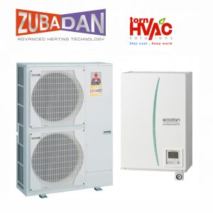 Pompa de caldura Hydrobox Aer Apa Mitsubishi Electric Zubadan ERSC-VM2C+PUHZ-SHW-140YHA 14 Kw-compact