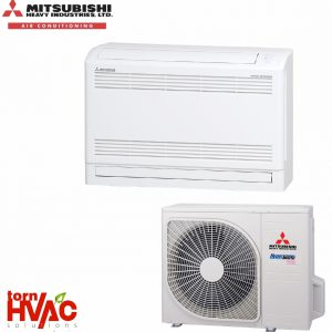 Aer conditionat Mitsubishi Heavy Industries Inverter de pardoseala SRF-ZMX-S+SRC-ZMX-S