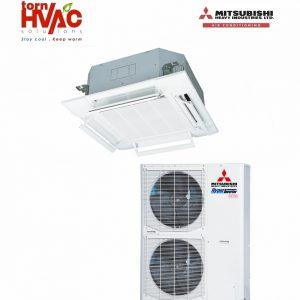 Aer conditionat Mitsubishi Heavy Industries Hyper Inverter Caseta FDT100VG+FDC100VNX 34000Btu