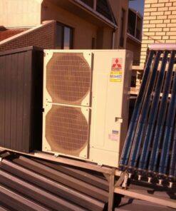 Pompa de caldura Aer Apa Mitsubishi Electric Zubadan PUHZ-SHW230YKA+Interfata PAC-IF032+2xSchimbator 23 kW - model splitat