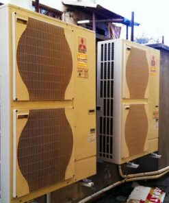 Pompa de caldura Aer Apa Mitsubishi Electric Zubadan PUHZ-SHW112YHA+Interfata PAC-IF032+Schimbator 11,2 kW - model splitat