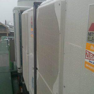 Pompa de caldura Aer Apa Mitsubishi Electric Zubadan PUHZ-SHW140YHA+Interfata PAC-IF032+Schimbator 14kw-model splitat