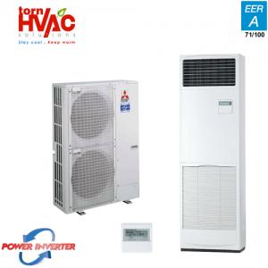 Aer conditionat Mitsubishi Electric Power Inverter PUHZ-ZRP125YHA+PSA-RP125KA Coloana 48000 Btu