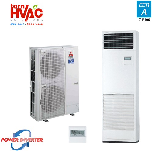 Aer conditionat Mitsubishi Electric Power Inverter PUHZ-ZRP125YHA+PSA-RP125KA Coloana 48000 Btu