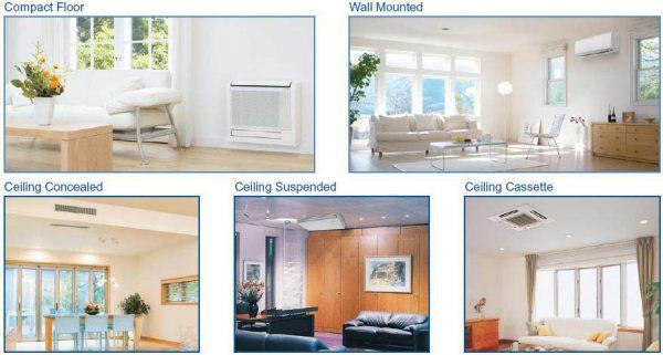 Aer Conditionat mitsubishi Electric Inverter 5x9000 BTU ( Kirigamine Zen White)