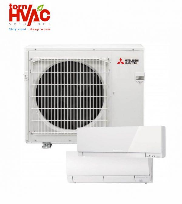 Aer conditionat Mitsubishi Multisplit Zubadan Hyper Heating MXZ-2E53VAHZ+2xunitati interne MSZ-SF25VE