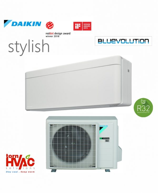 Aer conditionat Daikin Stylish FTXA25AW+RXA25A 9000 btu Alb