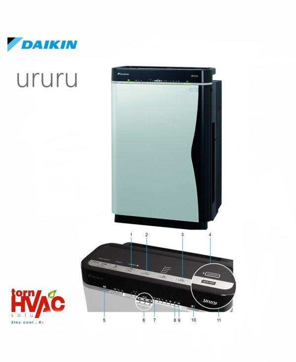 Daikin Purificator de aer cu functie de umidificare Ururu MCK75J