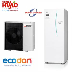 Pompa de caldura Mitsubishi Electric Ecodan Power Inverter ERST20C-VM2C+PUHZ-SW120YHA 12Kw