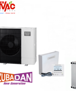 New model 2018 Pompa de caldura Aer Apa Mitsubishi Electric Zubadan PUHZ-SHW112YAA+Interfata PAC-IF061+Schimbator11,2kW-splitat