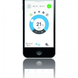 Controler online prin aplicatie Daikin BRP069A81