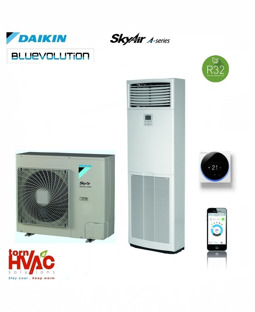 R32 Ac coloana Daikin Sky Air Bluevolution FVA-A+RZASG-MV1,MY1
