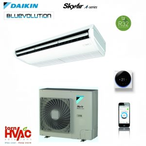 R32 Aer conditionat Daikin Sky Air Bluevolution Inverter de tavan FHA-A+RZASG-MV1,MY1