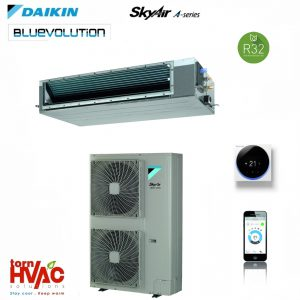 R32 Aer conditionat Daikin SkyAir Alpha series Duct cu ESP ridicat FDA-A+RZAG-MV1,MY1