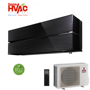 Aer conditionat Mitsubishi Electric MSZ-LN Onyx Black