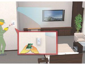 Mitsubishi Electric Telecomanda cu touch PAR-CT01MAA