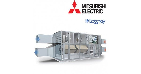 Mitsubishi Electric Lossnay recuperator de energie