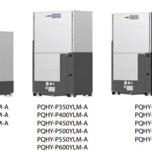 VRF Mitsubishi Electric Linia WY WR2 cu recuperare (racite cu apa) PQH(R)Y-P (1)