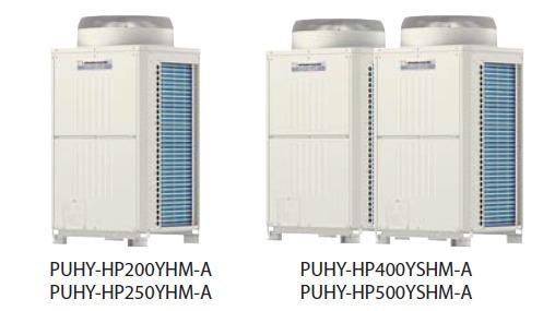 VRF Mitsubishi Electric Linia Y Zubadan PUHY-HP