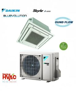 R32 Aer conditionat Daikin SkyAir Bluevolution Caseta perfect plata FFA-A + RXM-M9-min