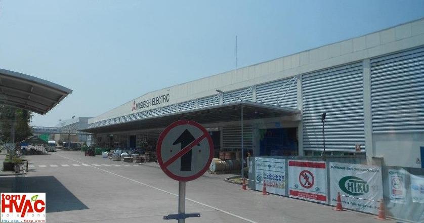 Fabrica Mitsubishi Electric Tailanda