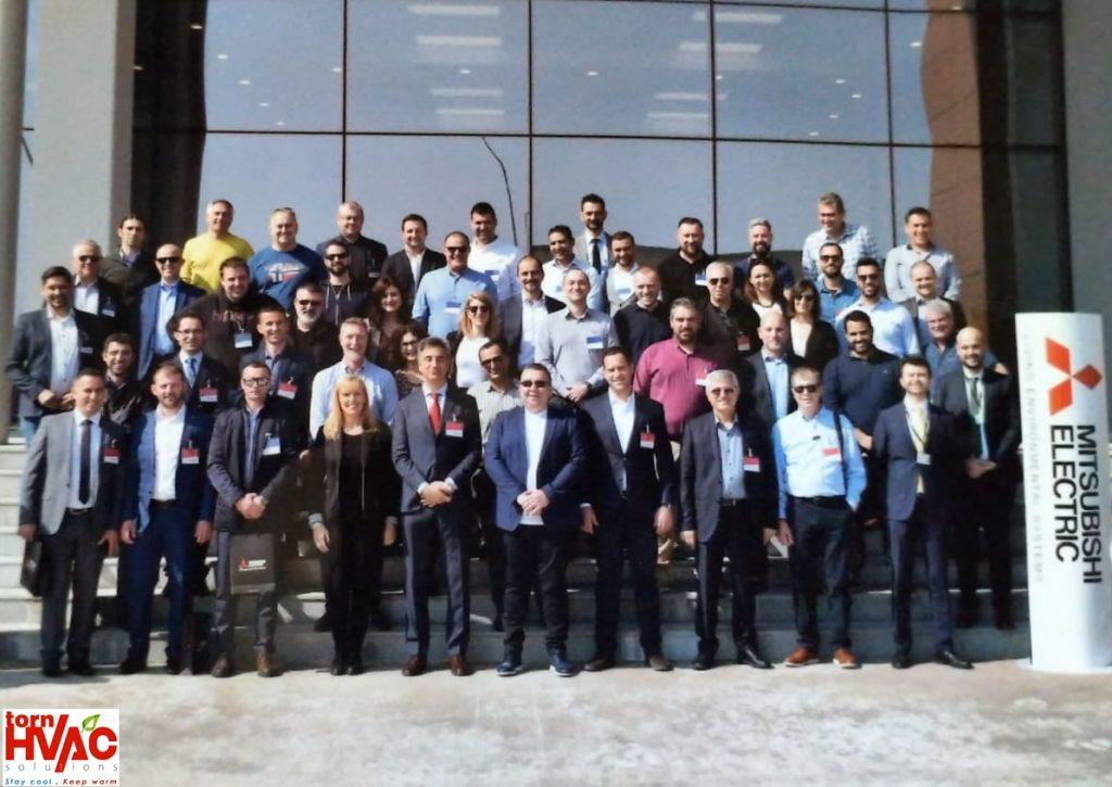 Vizita fabrica Mitsubishi Electric Manisa, Turcia 2019