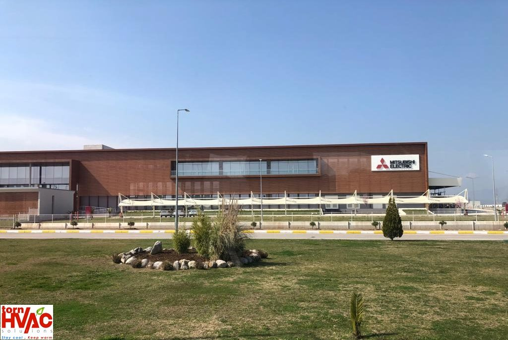 izita la fabrica Mitsubishi Electric din Manisa, Turcia