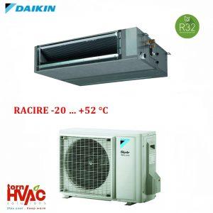 Aer conditionat Daikin Duct FBA60A9+RZAG60A pentru camere server 22000 btu R32