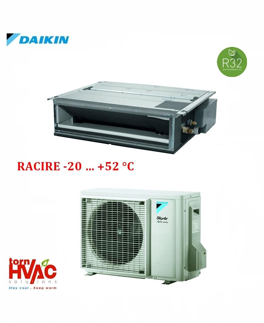 Aer conditionat Daikin Duct FDXM50F9+RZAG50A pentru camere server 18000 btu R32