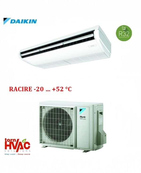 Aer conditionat Daikin aplicabil pe tavan FHA35A9+RZAG35A pentru camere server 12000 btu R32