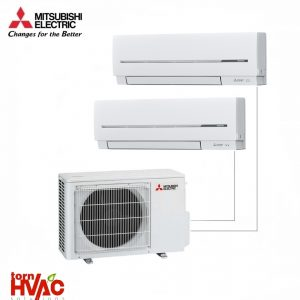 Aer conditionat Mitsubishi Electric Multisplit MXZ-2D42VA+2xMSZ-SF25VE (2x9000 BTU)