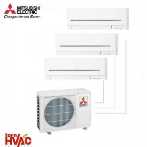 Aer conditionat Mitsubishi Electric Multisplit MXZ-3F68VF+3xMSZ-AP25VG (3x9000 BTU) R32