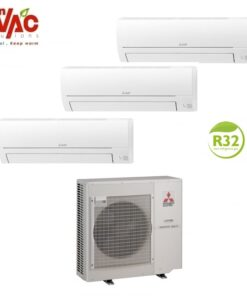 Aer conditionat Mitsubishi Electric Multisplit MXZ-3HA50VF+2xMSZ-HR25VF+MSZ-HR50VF (2x9000 BTU+1x18000 BTU) R32