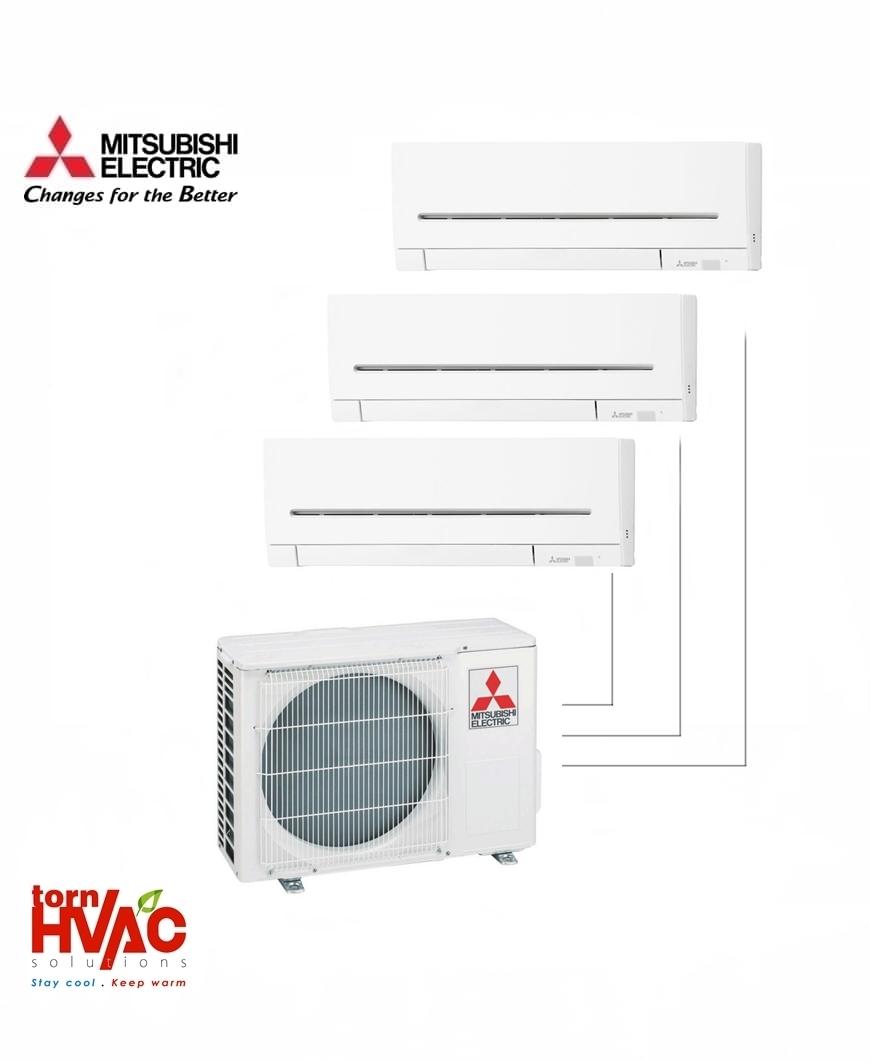Aer conditionat Mitsubishi Electric Multisplit MXZ-4F72VF+2xMSZ-AP25VG+MSZ-AP35VG (2x9000 BTU+1x12000 BTU) R32
