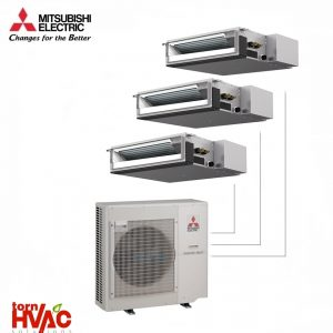Aer conditionat Mitsubishi Electric Multisplit Duct MXZ-5E102VA+3xSEZ-M35DA (3x12000 BTU)