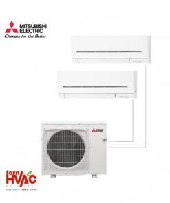 Aer conditionat Mitsubishi Electric Multisplit MXZ-2E53VAHZ+2xMSZ-AP25VG (2x9000 BTU) - incalzire 100% la -15 °C