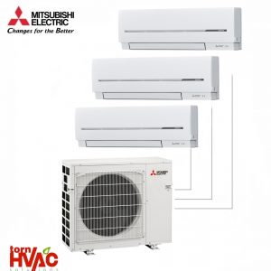 Aer conditionat Mitsubishi Electric Multisplit MXZ-3E68VA+3xMSZ-SF25VE (3x9000 BTU)