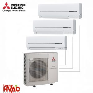 Aer conditionat Mitsubishi Electric Multisplit MXZ-4E83VA+2xMSZ-SF35VE+MSZ-SF25VE (2x12000 BTU+1x9000 BTU)