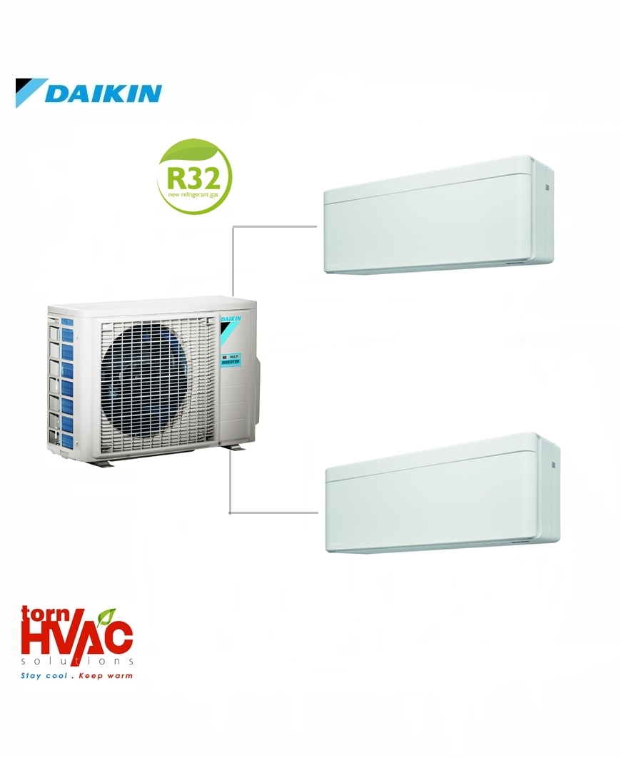 Aer conditionat Daikin Multisplit Stylish 2MXM50M9+2xFTXA25AW (2x9000 BTU) R32
