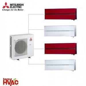 Aer conditionat Mitsubishi Electric Multisplit MXZ-4E83VA+4xMSZ-LN25VGRV