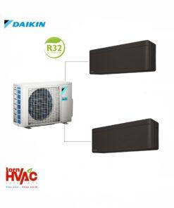 Aer conditionat Daikin Multisplit Stylish 2MXM50M9+2xFTXA25BB (2x9000 BTU) R32 Negru mat