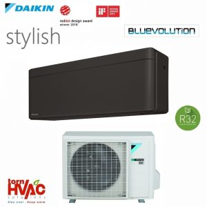 Aer conditionat Daikin Stylish inverter FTXA50BT+RXA50A 18000 BTU Negru R32