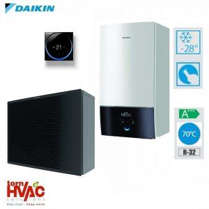 Pompa de caldura aer-apa Daikin Altherma3 HHT incalzire ETBH16D6V+EPRA16DW1 16 Kw-sistem hydrobox (trifazata)