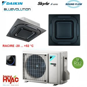 Daikin-SkyAir-Caseta-cu-jet-circular-FCAG35BRZAG35A-panou-negru-camere-server.jpg