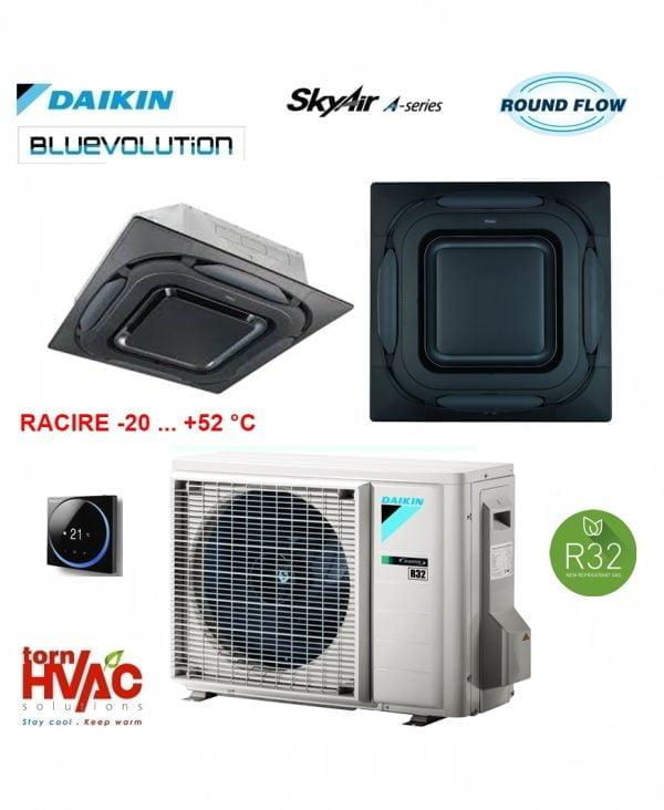 Daikin-SkyAir-Caseta-cu-jet-circular-FCAG50BRZAG50A-panou-negru-camere-server.jpg