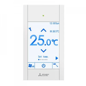 Mitsubishi-Electric-PAR-CT01MAA-Touch-Remote-Controller-Silver-Black-white.png