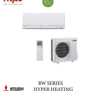 Aer conditionat Mitsubishi Electric inverter MSZ-RW25VG+MUZ-RW25VGHZ